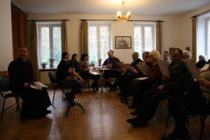 Konferencja ks. Piotra Markiewicza w sali św. Anny gdzie również jest pętla indukcyjna