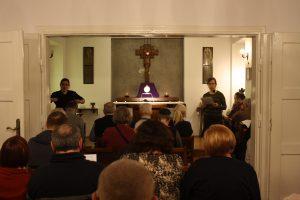 Nabożeństwo pokutne w Kaplicy Domu Rekolekcyjnego