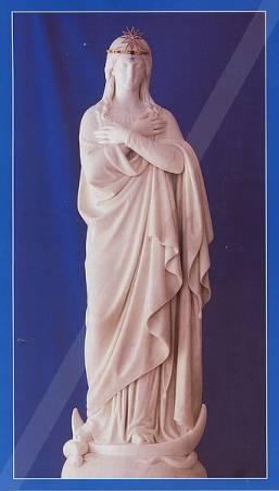 Figura Matki Bożej Niepokalanie Poczętej z Jazłowca