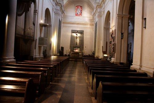 Wnętrze kościoła św. Marcina